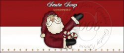 Santa Soup Label 1