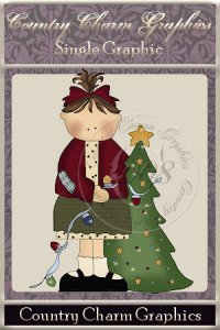 Christmas Tree Kate Single Graphic Set