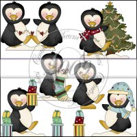 Penguin Christmas Mini Collection