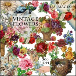 Vintage Florals Collection