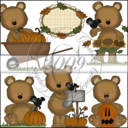 Little Bears Happy Fall Mini Collection