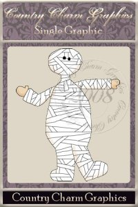 Dress-up Mummy Single Graphic Set