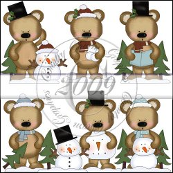 Baby Bears Winter Mini Collection