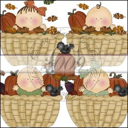 Baskets of Fall Blessings Mini Collection