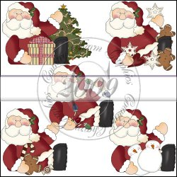 Roly Poly Santa Mini Collection