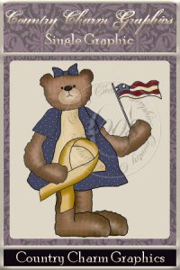 American Bear Single Graphic Set