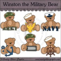 Winston the Military Bear Exclusive Collection
