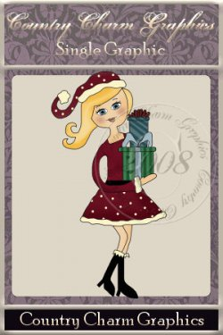 Christmas Shopper Single Graphic Set