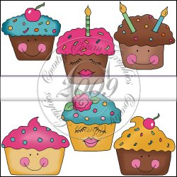 Happy Cupcakes Mini Collection