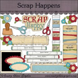 Scrap Happens Mini Collection