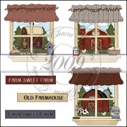 Farmhouse Windows Mini Collection