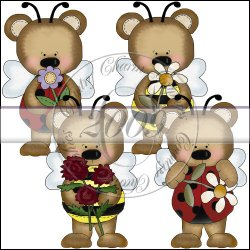 Bear Bugz Mini Collection