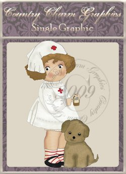 Nurse Sweetie Single Graphic Set