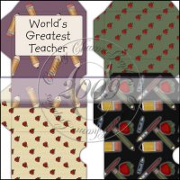 School Gift Card Sleeve Collection