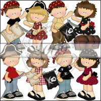 Snicklefritz Pirate Kids Mini Collection