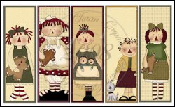 Simply Annie Bookmark Sheet