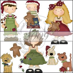 Country Christmas Kids Mini Collection