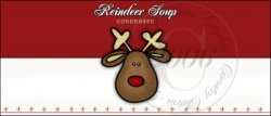 Reindeer Soup Label 1