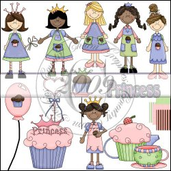 Little Miss Cupcake Mini Collection 1