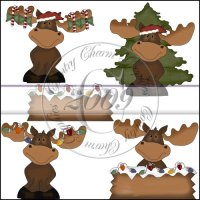 Christmas Moose Mini Collection