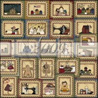 Simply Prim Penny Rug Card Collection