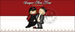 Souper New Year Soup Label