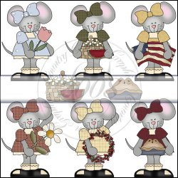 Country Mice Mini Collection