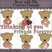 Bear with Me Forever Friends Mini Collection