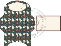 Christmas Cookies Gift Card Holder Set 3