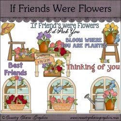 If Friends Were Flowers Mini Collection