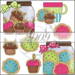 Birthday Sugar Cookies Mini Collection