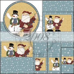 Holiday Folk Wrapper Set
