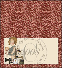 Doll Sweetie Checkbook Cover