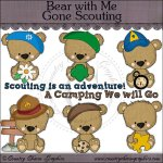 Bear with Me Gone Scouting Mini Collection