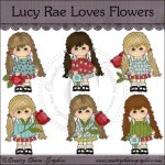 Lucy Rae Loves Flowers Mini Collection