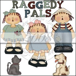 Raggedy Pals Mini Collection