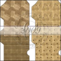 Antique Kraft Gift Card Sleeve Collection