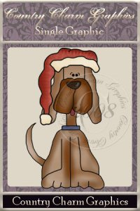 Christmas Dog Single Graphic Set