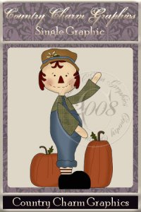 Pumpkin Patch Annie Single Graphic Set