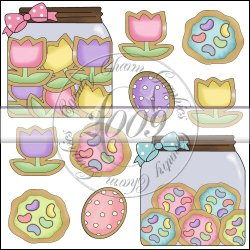 Easter Sugar Cookies Mini Collection