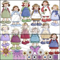Darling Little Girls Collection
