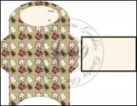 Christmas Cookies Gift Card Holder Set 2