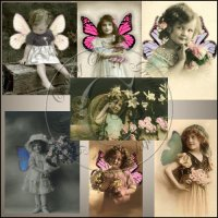 Vintage Butterly Kids Mini Collection