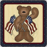 Americana Bear Glade Glass Scents