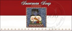 Snowman Soup Label 3