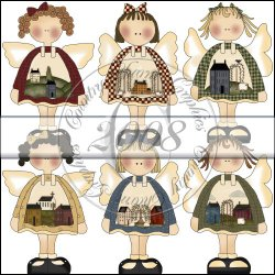 Saltbox Angels Mini Collection