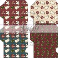 Christmas Cookies Gift Card Sleeve Collection