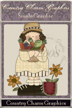 Gardening Gertie Single Graphic Set