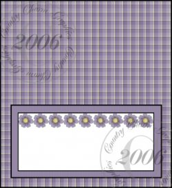 Summer Flowers Checkbook Cover