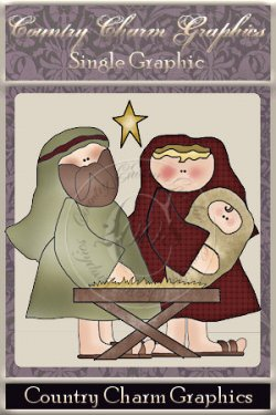 Nativity Single Graphic Set
